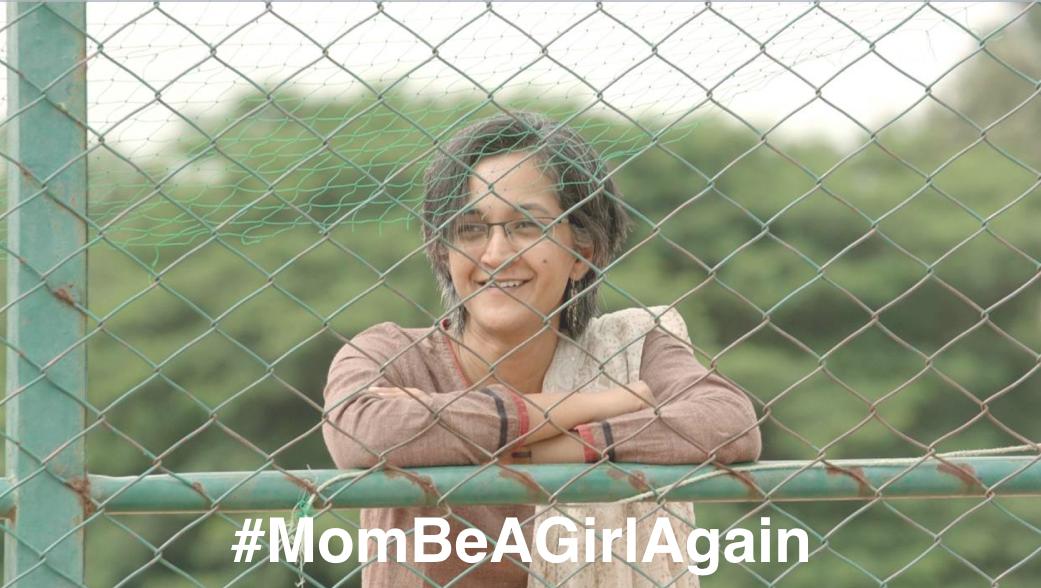 Kampania Amazon #MomBeAGirlAgain